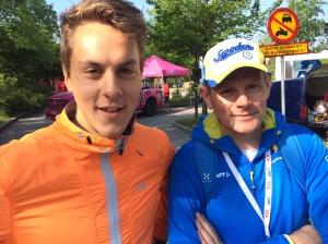 Anton Lindblad och Martin Eckervad