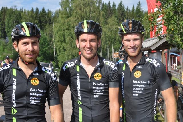 """Pontus """"Pumpen"""", Magnus Darvell och Mattias Nilsson. Alltid glada och pigga!"""