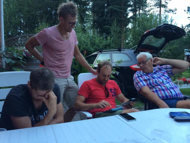 Slutet av kvällen: Svanebo har klivit in som IT-konsult