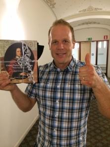 Daniel Tynell fick en bok om Polhem av oklar anledning