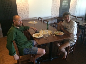 Vi träffade legenden Klint-Olle på lunchrestaurangen