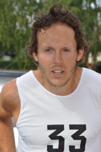 Markus Ottosson efter sin överlägsna seger i Delsborullen 2014. Foto: Erik Wickström.