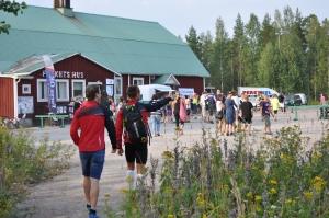 Bygden slöt upp i Näsviken vid BL-loppet