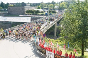 Starten av Alliansloppet 2014