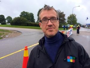 Krister Persson från Borås Tidning var på plats och sprang. Han skrev bukbloggen för ett par sedan och gick ned en massa i vikt, nu skriver han löparbloggen.
