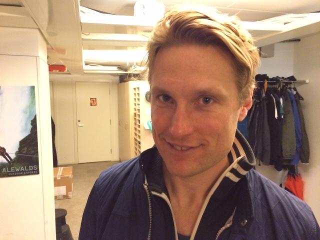 John, skidåkare i Stockholm som körde upp sig i elitledet efter ett bra Allianslopp