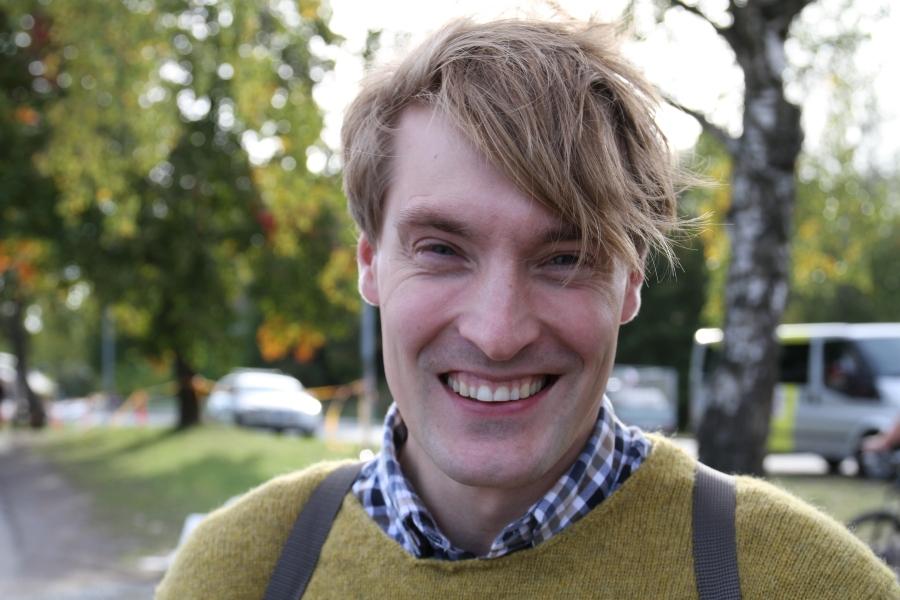 Jonathan Svensson från Skellefteå tävlade jag mot som junior. Nu jobbar han på HM och är comeback-sugen.