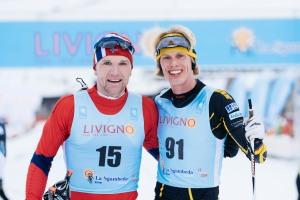 Svein Tore Sinnes och jag höll ihop de sista 2/3 av loppet. Trevlig kille! Foto: Magnus Östh.
