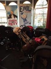 Finns det p-vakter för barnvagnsparkeringar?