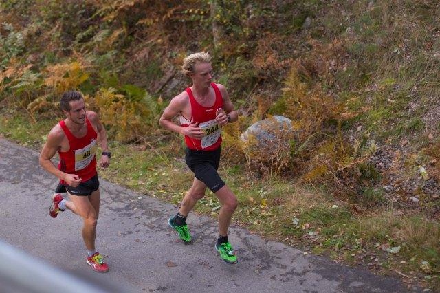 Lidingöloppet 2014. Jag till höger i Salming Speed-skor. Foto: Adam Johansson.