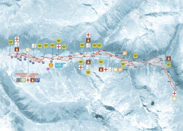 La Sgambeda 35 km K Swix Ski Classics bana