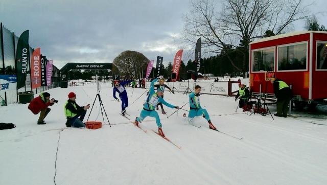 Tight mellan både ettan och tvåan och trean och fyran. Foto: Intersportloppet/Långloppscupen.
