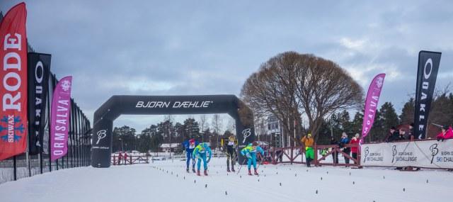 Intersportloppet 2015 spurten. Foto: Adam Johansson, Adamediamedmera