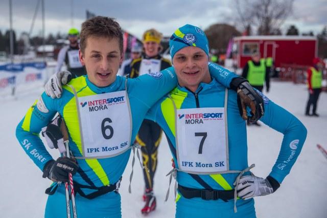 Oscar Persson och Jack Impola, SK Bore. Foto: Adam Johansson, Adamediamedmera.
