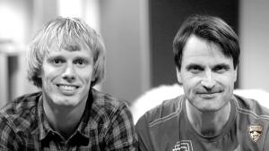 Erik Wickström och Teemu Virtanen