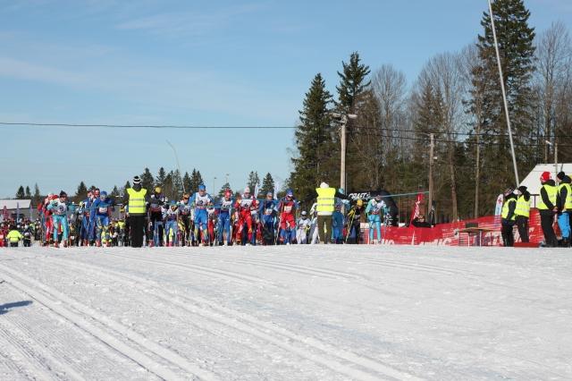 Starten Västgötaloppet 2015