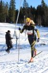 Anna-Karin Jonsson, som är sambo med Z, sopade hem bucklan i D40. Tidigare i vintras vann hon GM. Ny fest i Dalsjöfors!