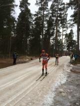 Petter Eliasen och Anders Aukland i Moraparken. Foto: Lars-Åke Carlzon.