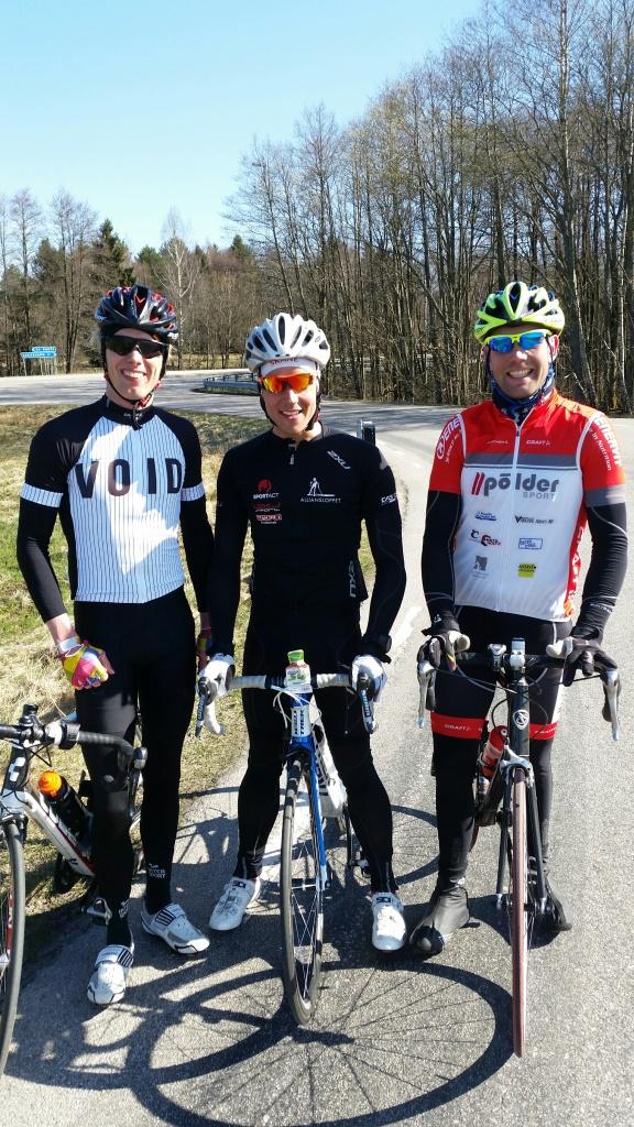 Jag, Rickard och Snickarn. Foto: Z.