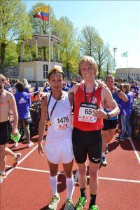 Göteborgsvarvet 2015 med Daniel Adams Ray
