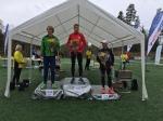 Prispallen herrar Sjömarksloppet 2015