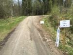 Sjömarksloppet går mestadels på asfalt, men även en del grus, gräs och elljusspår.