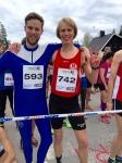 Viktor Åberg sprang i min pappas gamla tävlingsdräkt som gjort ca 20 Vasalopp.