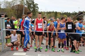 Starten: Foto: Sjömarksloppet.