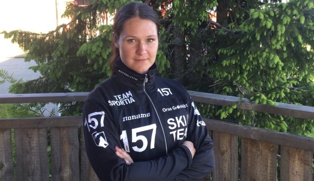 Britta Johansson Norgen Foto Lager 157 SKI TEAM