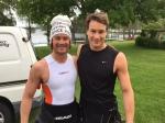 Thobias Petterson har varit först upp ur vattnet i Kalmar triathlon. I söndags blev han 11:a i Borås Swimrun med sin bror Nicklas.