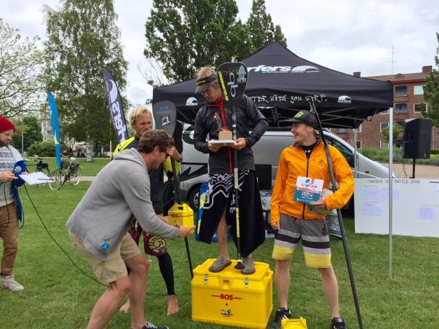 Simmer SUP Battle i Halmstad 2015, herrpallen