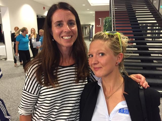 Catharina Ramhult och Emma Belforth på Aktivitus, som ska flytta sin testklinik till Göteborgs Nya Arena