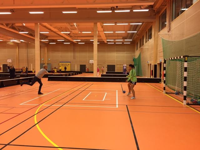 På tredje försöket satte jag en straff på handbollslandslagets målvakt i sporthallen