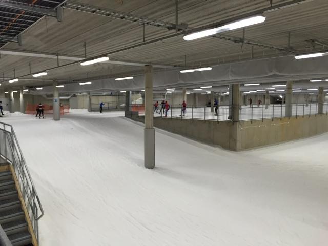 Skidome, skidhallen i Göteborg