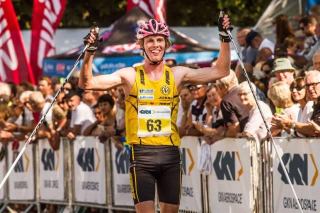 Målgång Alliansloppet 2015. Foto: Joachim Nywall, www.joachimnywall.se.