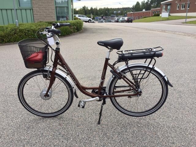 Marvil elcykel, 26 tum och 7 växlar