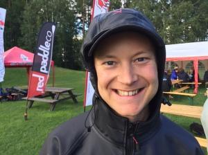 Martin Backeus var en trevlig pojk som jag träffade för första gången i helgen. Han blev 3:a i sprinten och 4:a i distansloppet.