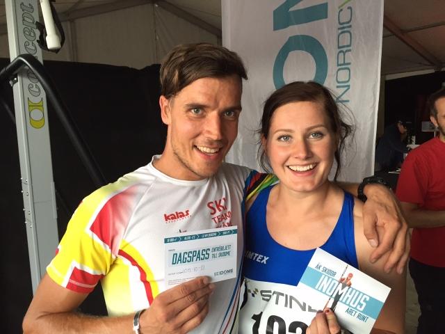 Marika Sundin vann sprinten och blev två i backracet. Seger i morgon?