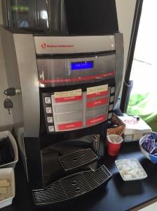 Denna automat, i alla fall med det kaffet den innehöll i tisdags, borde ha en varningstext