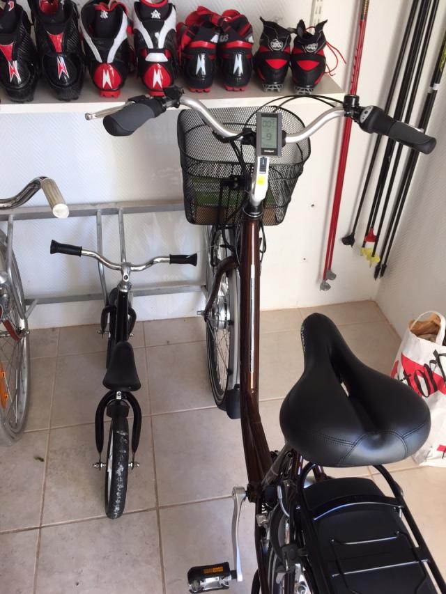 """Cykelrummet"" i källaren"