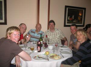 Jag och skidskyttar på Mallorca 2008