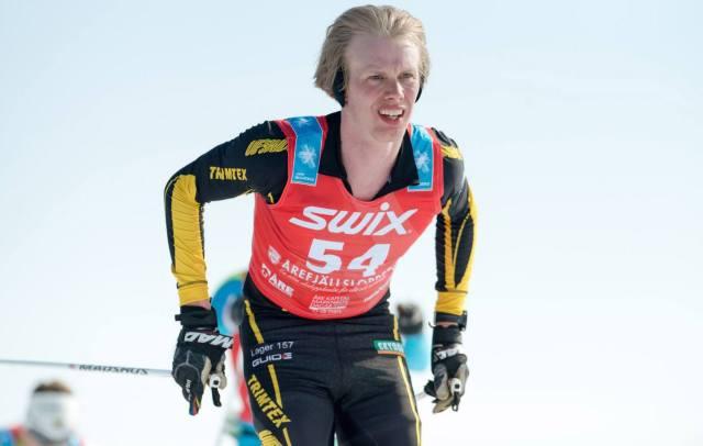 Erik Wickström Årefjällsloppet 2014 foto Magnus Östh
