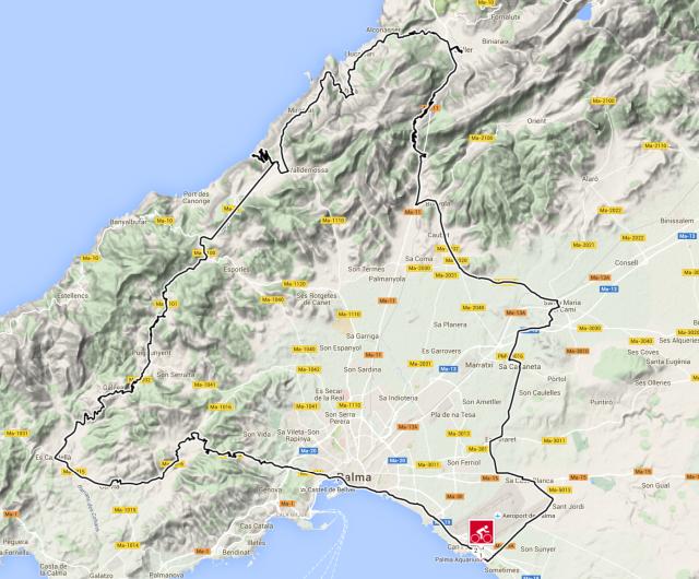 Karta Mallorca