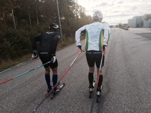 Marcus Johansson och Martin Damm. Att Craft-Damm kör för Team Erection känns ju spännande.