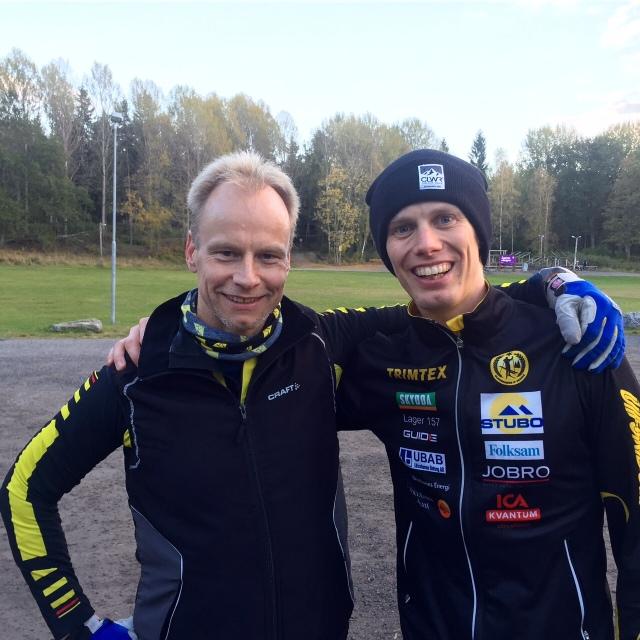 Tommie Lindblom lägger ner ett enormt ideellt arbete för Stockholms rullskidklubb