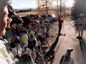 24 åkare uppradade vid starten vid Tosseberg