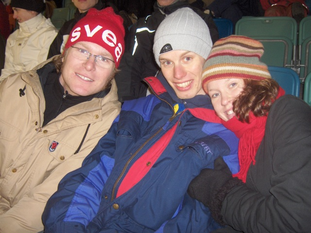 Linus Davidsson, jag och Ida var på Ullevi när en världcuptävling i sprint kördes där i mars 2005. Tio år, times fly.