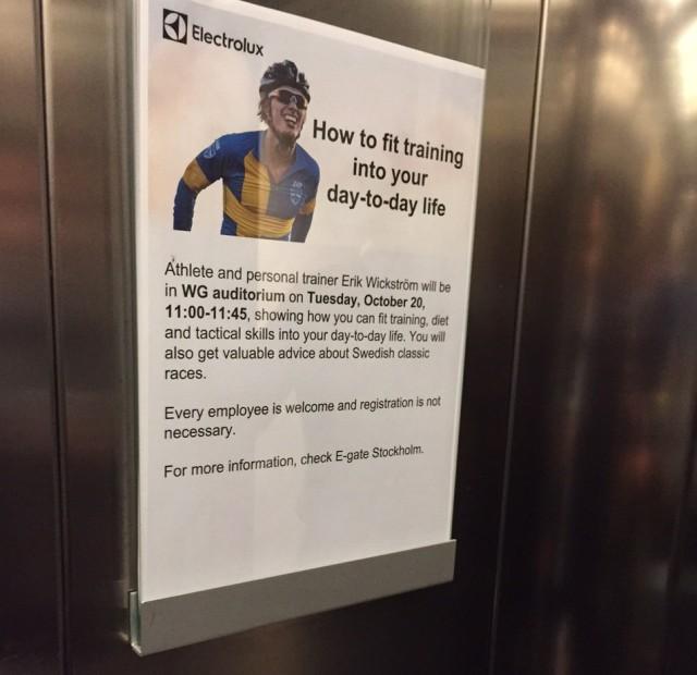 I hissen på Electrolux