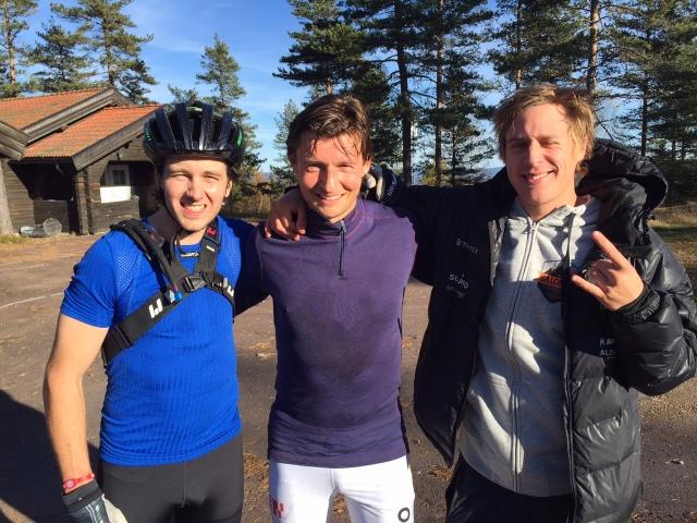 Robert Carlsson, Mattias Loqvist och David Holmström