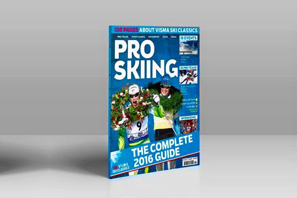 PRO SKIING - THE COMPLETE 2016 GUIDE! Visma Ski Classics tidning